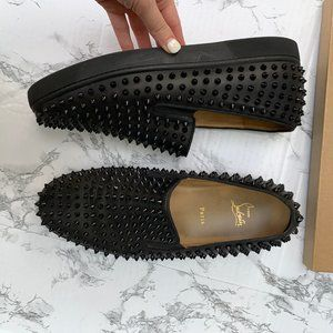 Christian Louboutin Shoes - Christian Louboutin Roller Boat Slip On Sneaker